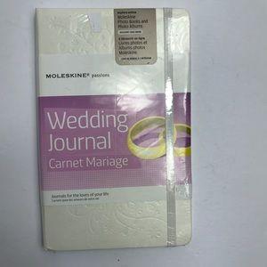 Moleskine passions wedding journal pearl notebook